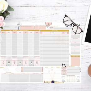 A3 Desk planners to plan your Life
