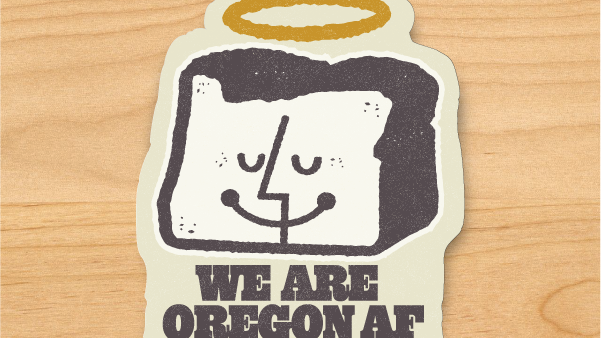 OregonAF Sticker