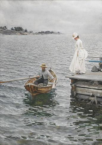 Sommarnöje_1886_akvarell_av_Anders_Zorn.