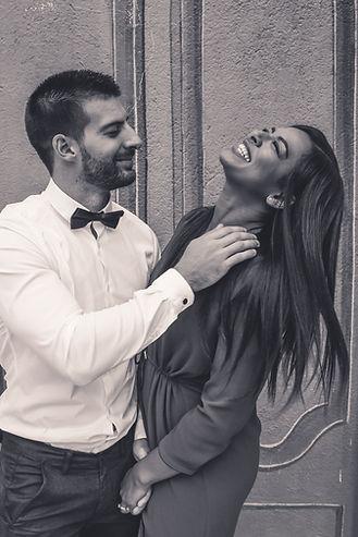 couple heureux portrait