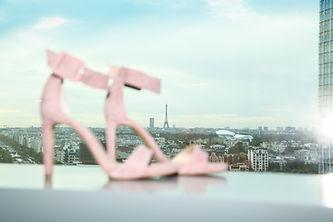 vue de Paris escarpins tour eiffel