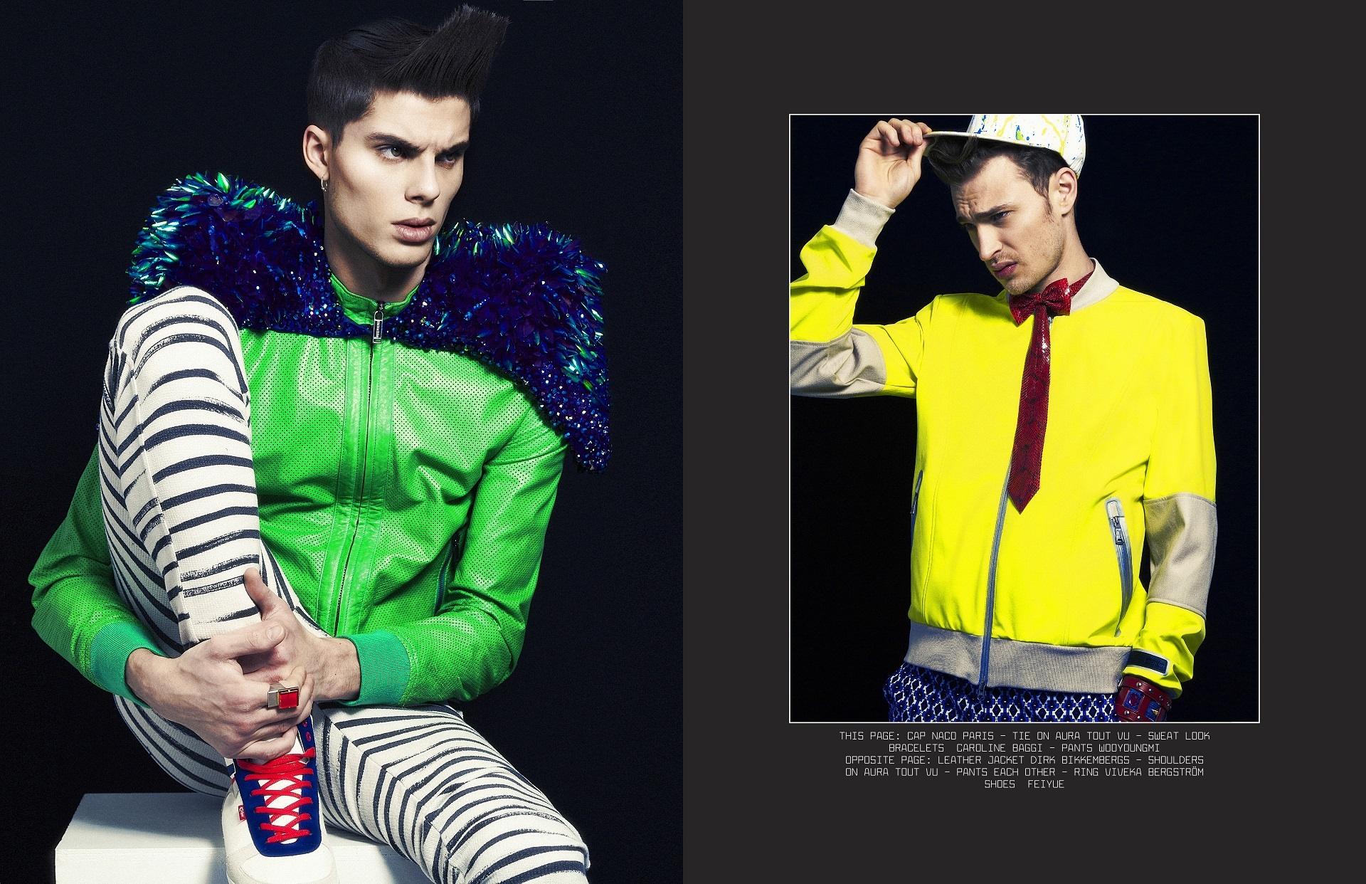 Lash Magazine par MG