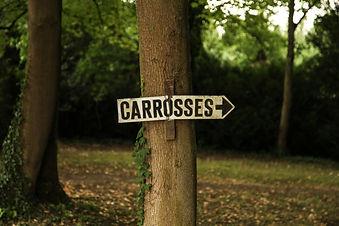carrosses pancarte