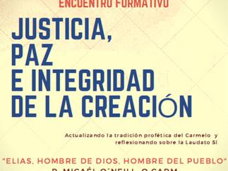 Encuentro formativo de Justicia y Paz R.I.