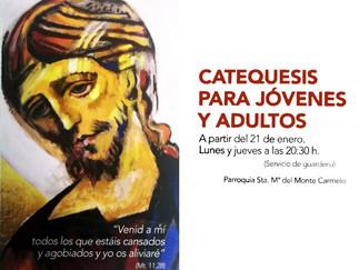 CATEQUESIS PARA JÓVENES Y ADULTOS