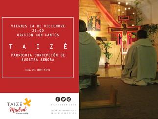 Nuestro arciprestazgo ha organizado una oración de Taizé
