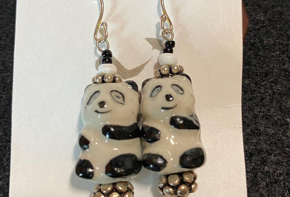 Pandas with Bali Silver