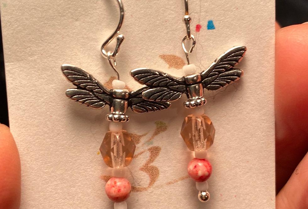 Pink Dragonflies