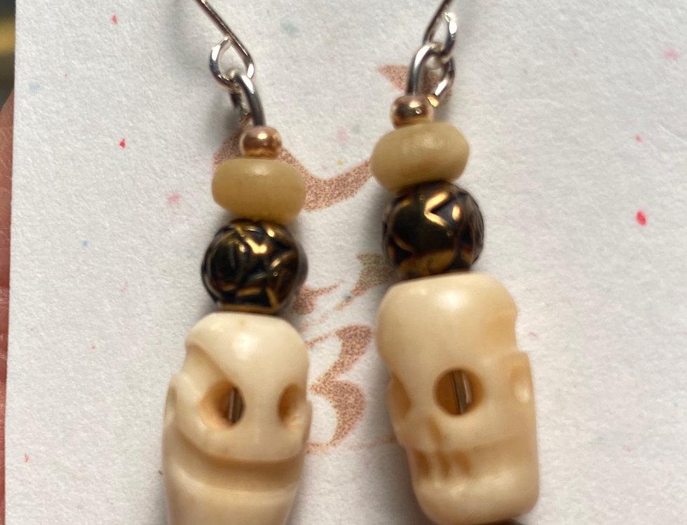 Skulls & Rosary Beads