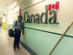 Welcome to Canada. First time up this way. Finally have been to to all of the North American countri