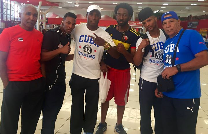Had a chance to chat with some brothers on the Cuban national boxing (el equipo de boxeo national de