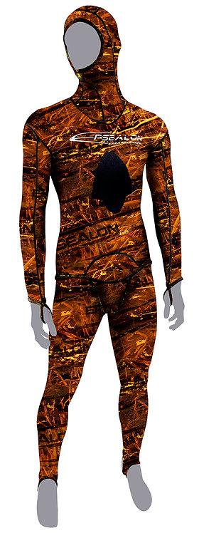 Rash suit brown Fusion