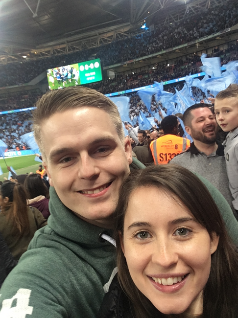 Watching Manchester City WIN the FA Cup FINAL 2019