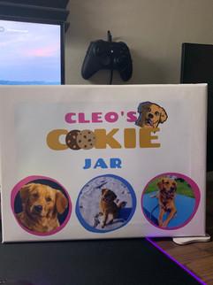 Cleo's Cookie Jar Canvas