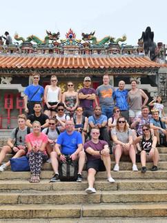 My work Badminton Team in Hong Kong