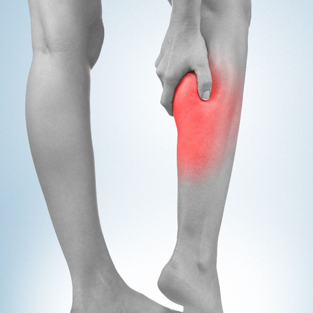 Calf strains: what to do when you can't even walk. A guideline for what to expect