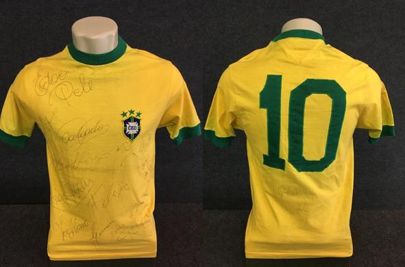 Camisa Pelé Taça Independência 1972