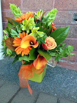 Water Filled Box Bouquet