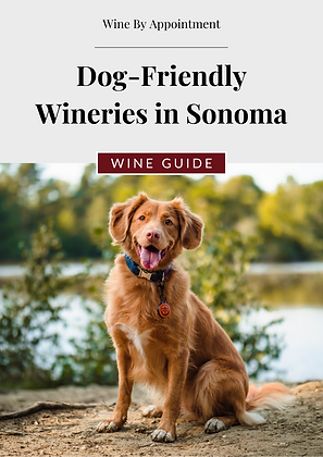 Dog-Friendly Wineries in Sonoma Guide