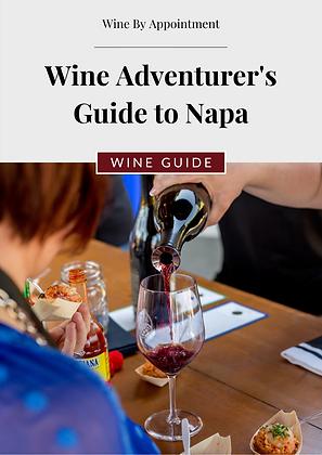 Wine Adventurer's Guide to Napa