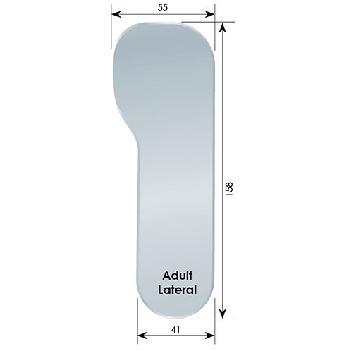FogSee Photo Mirror - Adult, Lateral