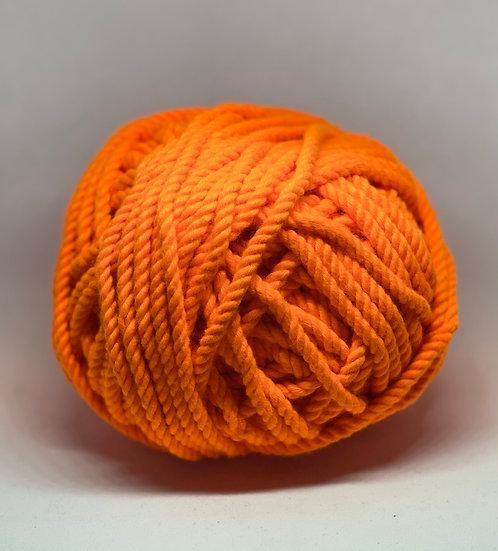 Macramé 6mm Naranja Neón