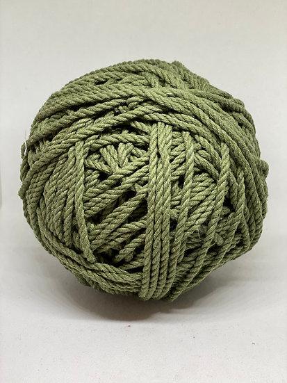 Macramé 3mm Verde Musgo