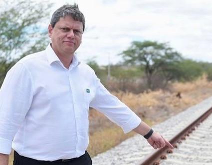 Ministro, Tarcísio de Freitas pode ser candidato do Governo ao Senado
