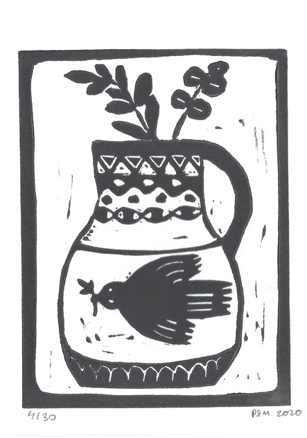 Vase & Oiseau