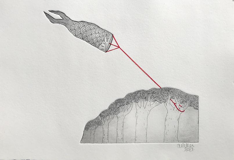 Un poisson / foret