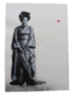 1211_Jef Aerosol_Geisha_serigraph on Arc