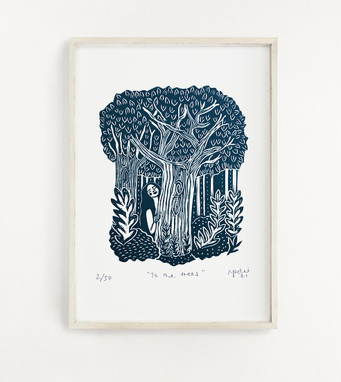 To the trees