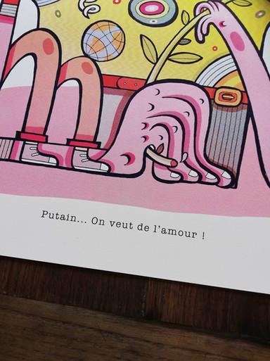 PUTAIN... ON VEUT DE L'AMOUR