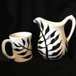 By God's Grace   Pitcher  Mugs
