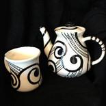 Afri-Paisley   Tea Set