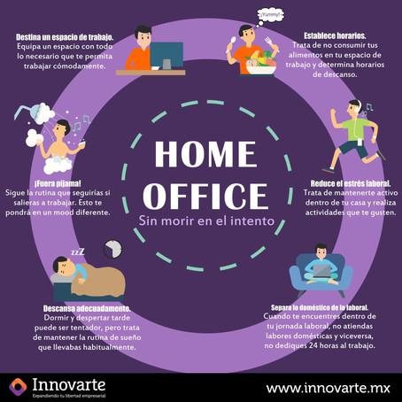 """HOME OFFICE """"Sin morir en el intento"""""""