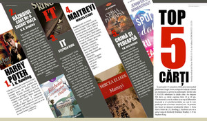TOP 5: cărți (noiembrie 2020)