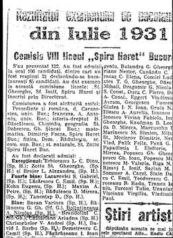 BACALAUREAT BEBE 1931