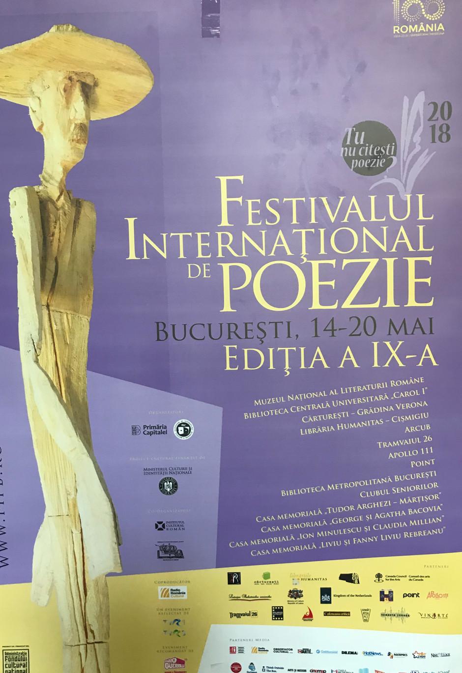 Festivalul International de Poezie, editia a IX-a