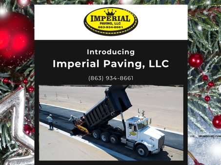 Imperial Paving Holiday Newsletter