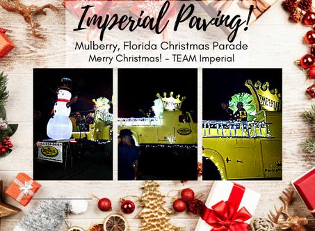 #TEAMImperial  Mulberry, Florida Christmas Parade! Merry Christmas Everyone!