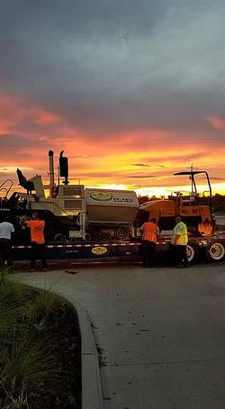 Night Time Emergency Paving Florida