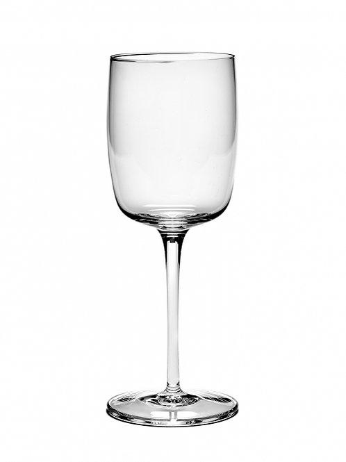 Set white wine glass straight Passe Partout (4 pieces)