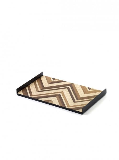 Serax - wooden plate Grint - Michiel Goethals and Mattias Van Mieghem