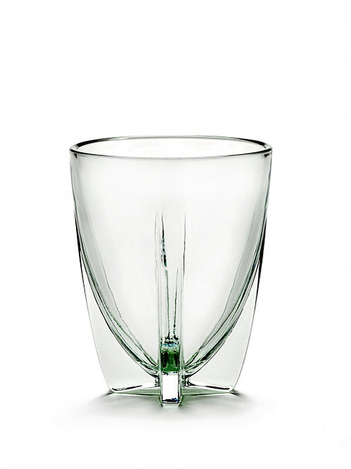 Set of 8 glasses Dora 25 cl  light green