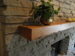 Custom Red Oak Mantel