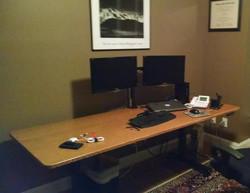 Quarter Sawn White Oak Desktop