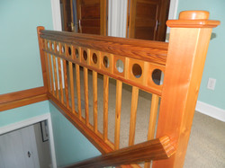 Vintage Yellow Pine Handrail