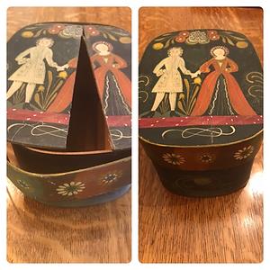 Vintage Wooden Box (1955)