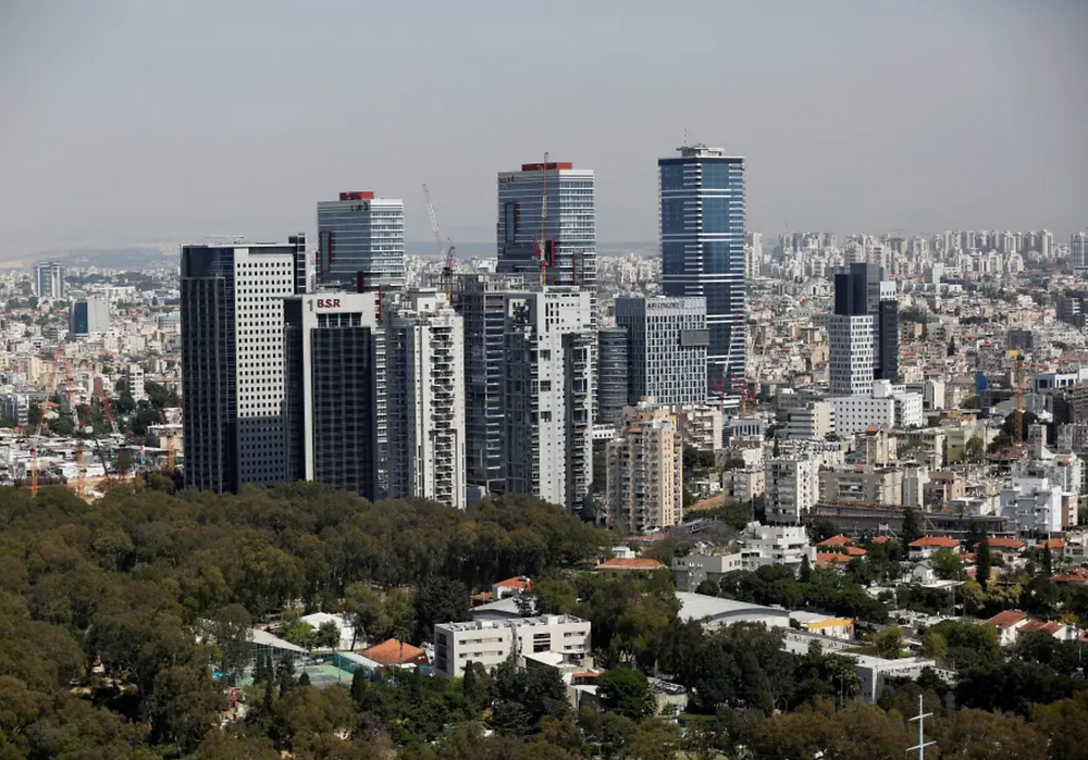 A general view shows the urban landscape of Tel Aviv, Israel May 15, 2019. (photo credit: REUTERS)